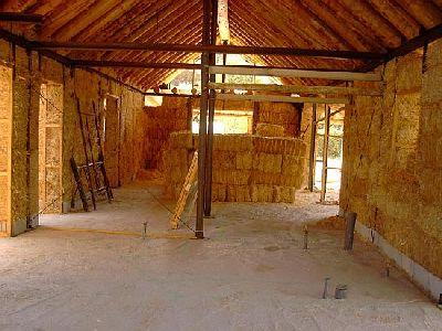 La paille: un matériel de construction écologique